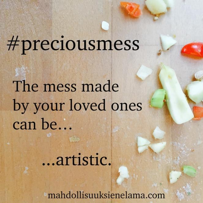 #preciousmess